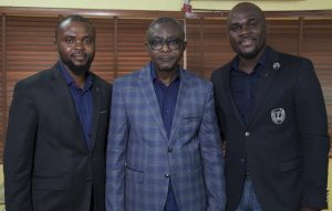 L-R: Mohammed Abdullahi, Principal PR/Media Consultant; Olanrewaju Samson, Events and Brand Activations Consultant and Temi-Tope Ogbeni-Awe, Founder and Chief Service Officer, all at TOPCOMM.