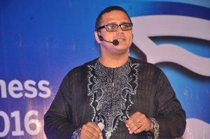 BLS Guest Speaker & Managing Director, Doreo Partners, Kola Masha delivering a presentation